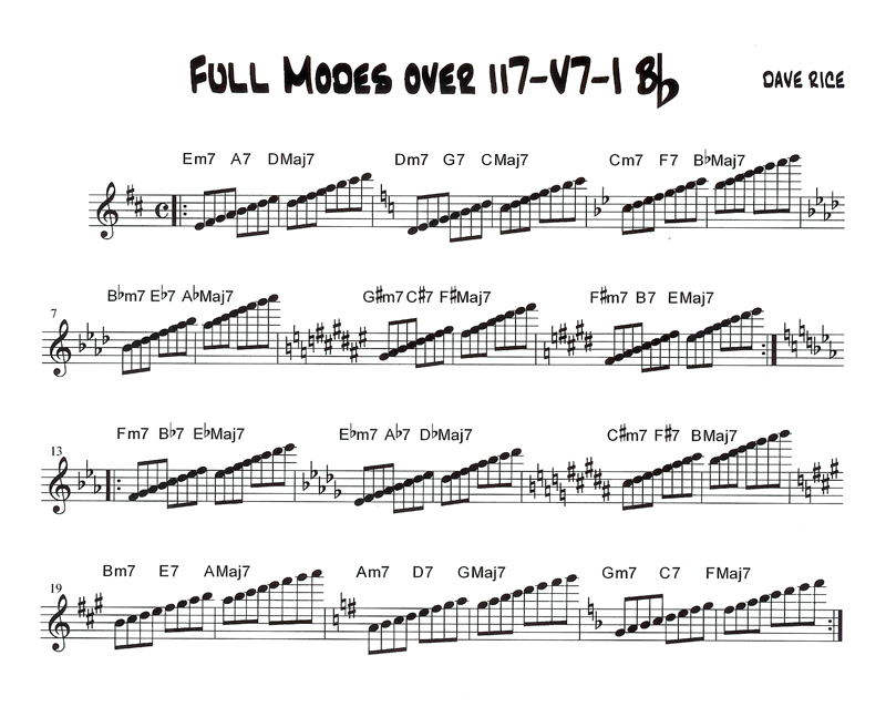 Dave Rice Productions-Jazz Improvisation
